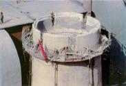 烟囱顶口拆除维修