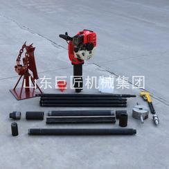 QTZ-1型单人手持淤泥取样钻机 小型打土钻机
