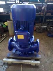 ISG100-200 22KW 提灌泵站用立式管道泵  铸铁材质