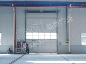供应杭州理想门业工业门/分节提升门/提升门