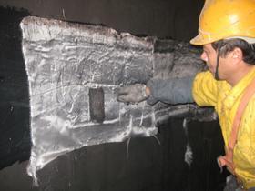 内壁防水、防腐施工