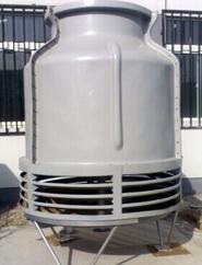 唐山大世圆形逆流玻璃钢冷却塔