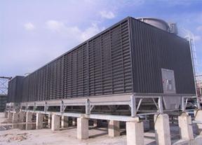 逆流式闭式冷却塔原理及运用
