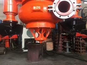 液压式潜水泥浆泵—30吨位挖机专用