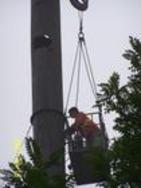 制作安装铁烟囱
