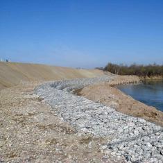 中卫河道护岸宾格笼 护脚格宾网箱 水利工程绿滨垫建设