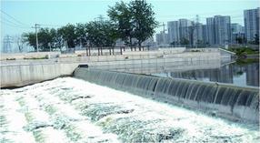 智能生态气盾坝设计CAD图 气动盾形闸门生产安装厂家价格 拦河闸气盾钢坝施工方案