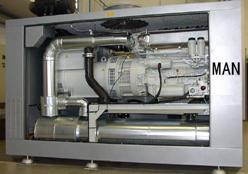 德国曼进口燃气发电机组