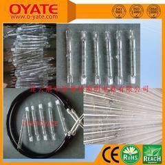 卤素短波红外线灯管  塑料瓶红外线加热灯