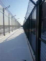 天津监狱警戒线围网