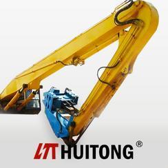 最長挖掘機打樁臂多少米 打樁臂廠家