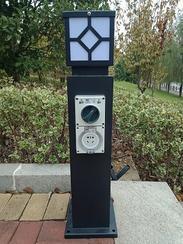 恋途插座柱 HW-205 草坪灯柱 庭院灯柱