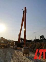 斗山挖机18米加长臂低价
