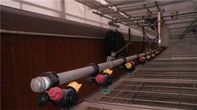 温室智能移动喷灌机/自走式喷灌机华耀生产厂家