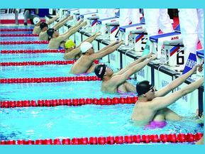 游泳比赛无线控制计时系统