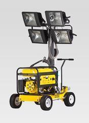 德国威克轻巧应急救灾便移灯塔-ML225紧急照明灯车