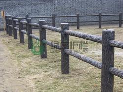 仿木栏杆,仿木护栏,隔离护栏,绿化护栏