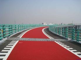 上海彩色透水路面