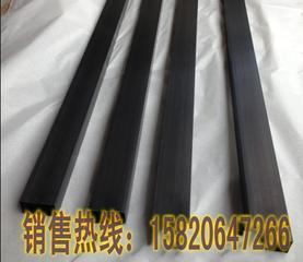 拉丝黑钛金不锈钢管.镜面玫瑰金40x10矩形管
