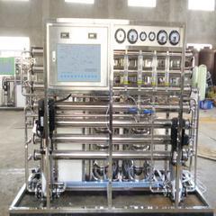 保健品純化水設備(二級反滲透)