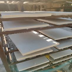 厂家低价生产硅酸铝纤维板毡