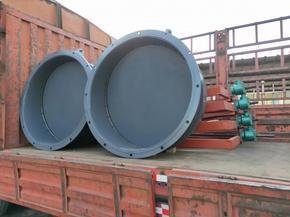 海河货源厂家DN400复合HDPE拍门 dn400雨水玻璃钢拍门