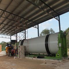 卧式污泥发酵堆肥反应器