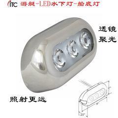 防水船底灯游艇灯尾灯,船用LED水下灯,排水灯,灯光亮化装饰
