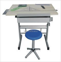 升降式多功能制图绘图桌工程绘图台