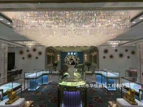 银饰品展柜图片,深圳珠宝首饰展示柜工厂