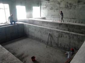珠海长隆养殖池进行聚脲防水防腐项目施工