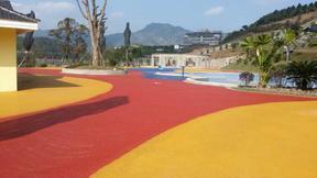 彩色透水混凝土地坪材料胶结料 安徽 河南 河北