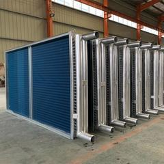 加工铜管铝翅片空调表冷器 4排管铜管表冷器
