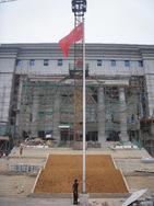 贵阳不锈钢旗杆、贵州不锈钢旗杆---南明区检察院