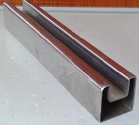 门框用不锈钢单槽管 304不锈钢管 惠州不锈钢管