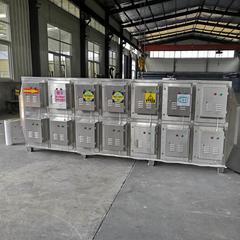 工业不锈钢油烟净化器线缆厂除油烟一体机设备