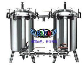 卫生级双联过滤器-卫生级循环过滤器
