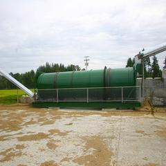 大型滚筒动态好氧发酵污泥处理设备