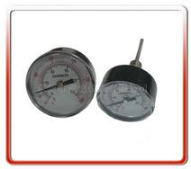供应50MM轴向半钢温度计系列