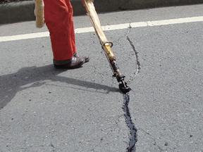铜陵道路裂缝修补胶