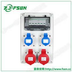 户外工地一级二级三级防水配电箱移动便携式检修电源箱不锈钢插座箱