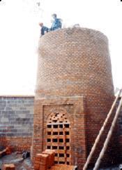 60米锅炉烟囱新建