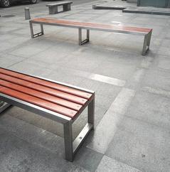 河南洛阳户外公园园林座椅厂家就找西安志诚塑木