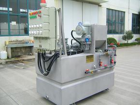 防爆型絮凝剂制备系统