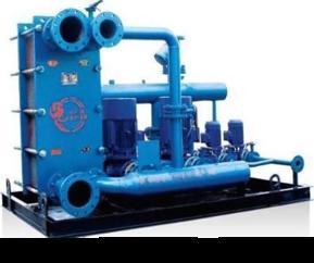 济南张夏HRJ1.4板式换热机组~张夏水暖设备