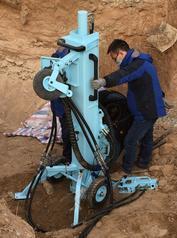 GL-50高频冲击原状土壤取样钻机