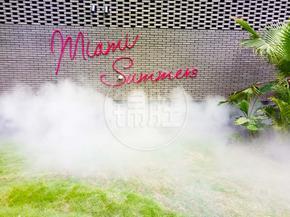 地产小区售楼处人造雾-园林景区高压喷雾设备