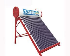 太阳雨无电增压太阳能