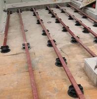 山西瓷砖支撑器,防腐木龙骨支架,石材垫高器清仓