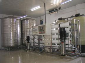 反渗透纯化水设备,反渗透净水处理设备,桶装水处理设备厂家